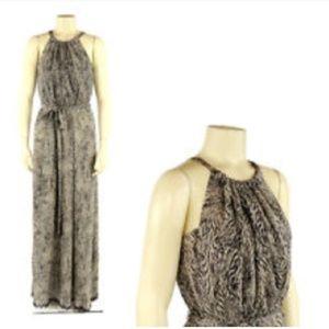Anthropologie Leifsdottir Silk Maxi Dress
